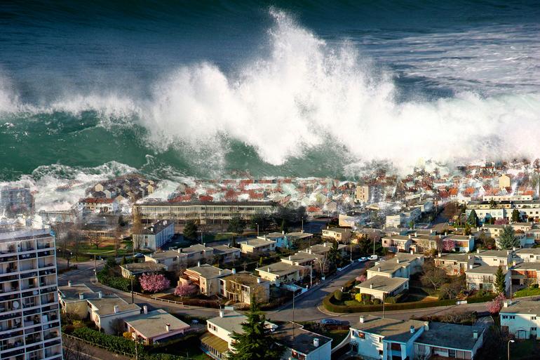 До чого сниться цунамі: тлумачення по сонникам, значення сну, якщо вдалося врятуватися або хвиля накрила місто