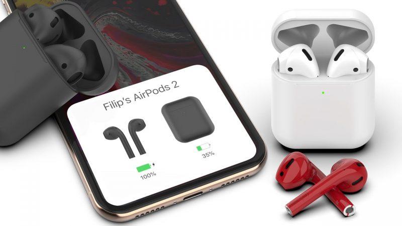 Беспроводные наушники Apple Airpods – обновленная модель